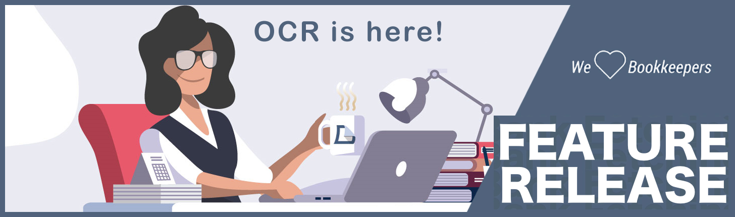 OCR Data Extraction Feature for Online Bookkeeping image