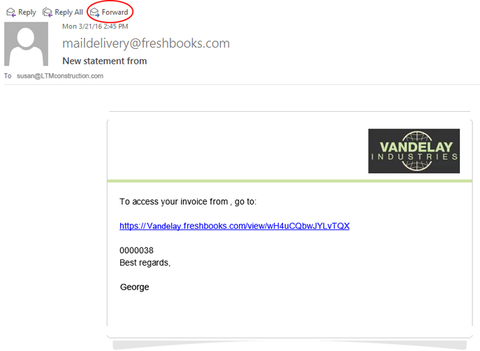 how to change quickbooks email address
