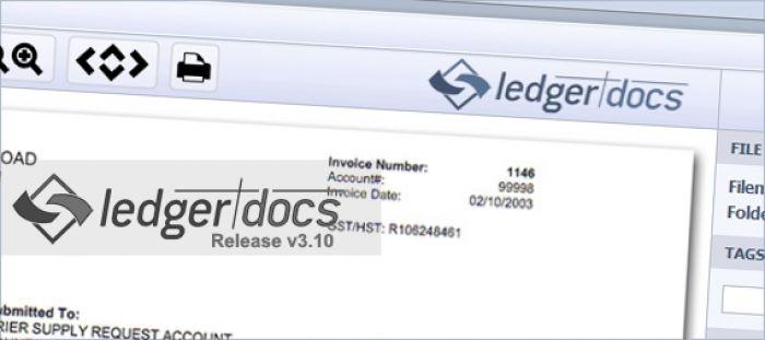LedgerDocs Application Release v3.10