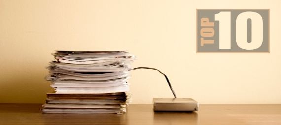 The Top Ten Benefits of a Paperless Office for Bookkeepers