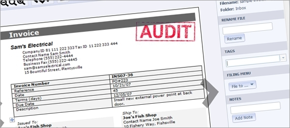 Are Scanned Documents Accepted as Proof in a Canadian Audit
