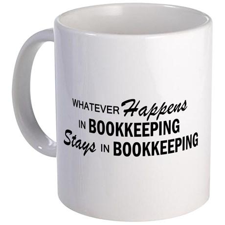 whatever happens bookkeeping mug